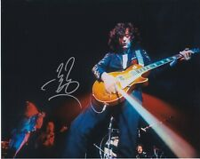 Led Zeppelin Jimmy Page autographed 8x10 photograph RP