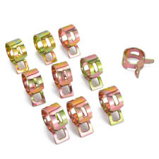 6Pcs Car Auto Spring Clip Fuel Oil Water Hose Pipe Tube Clamp Fastener 6 Sizes