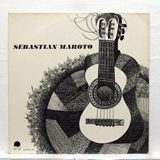 SEBASTIAN MAROTO - MUDARRA, DE NARVAEZ, MAROTO guitar works L'ESCARGOT LP EX+