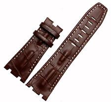 28MM Brown Leather Watch Band Strap Fits For Audemars Piguet Royal OAK AP100