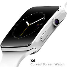 SMARTWATCH X6 OROLOGIO iPhone  ANDROID IOS CON SIM BLUETOOTH SMART WATCH BIANCO