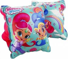 Shimmer & Shine Kids Inflatable Swimming ArmBands Cuffs Genie Girls Summer Pool