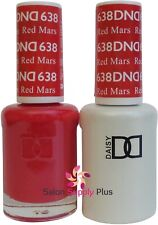Dnd Daisy Duo Gel W/ matching nail polish lacquer - Red Mars - 638