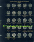Set of sheets for jubilee coins of Transnistria 1 ruble.