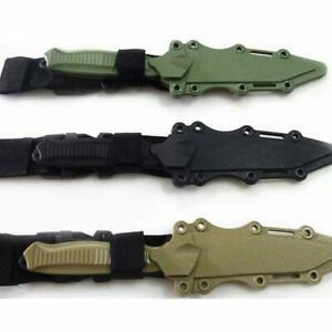 Safe 1: 1 Tactical Rubber Knife Military Training Enthusiasts CS Cosplay Toy