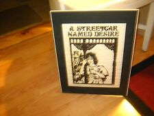 Unframed  Artist Proof Signed  'A Streetcar Named DESIRE' Painting