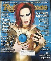 Marilyn Manson~RARE~Rolling Stone #797 Oct. 1998~Goo Goo Dolls