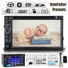 """6.2"""" TOUCHSCREEN DVD CD BLUETOOTH Double Din Car Radio Stereo For Scion tC xB xD"""