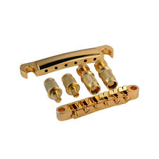 Whole Set Gold Guitar Tune-O-matic Bridge Tailpiece Tail For Gibson Les Paul SG