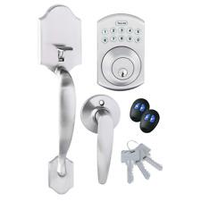 TOLEDO Fine Locks Keyless Electronic Single Cylinder Entrance Handleset