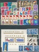 DDR,Jahrgang 1965**, Michel 50€, pracht