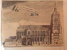 LA BELGIQUE,BÉLGICA,  La Basilique Notre-Dame de Tongre,d'Harrewyn, 1711.