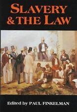 SLAVERY & THE LAW Paul Finkelman 1997 1st Ed HC NEW