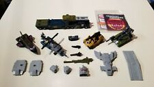 Transformers G1 Hasbro Takara  Bruticus Brawl Swindle Blast Off Vortex Onslaught