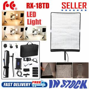 Falcon Eyes Video Light 100W 504pcs LED 3000-5600K RX-18TD Camera