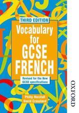 Vocabulario Para Gcse Francés - 3rd Edición por Philip horsfall, David crossland