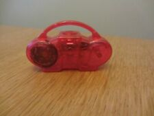 Sindy Doll Red Music Player Stereo , Boombox, Ghetto Blaster With Sounds