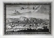 NAMUR - schöne Ansicht der Stadt Kupferstich bei Merian 1702 - Original!!