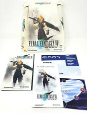 Final Fantasy VII - (PC CD-ROM) 1998 Big Trapezoidal Box - Rare