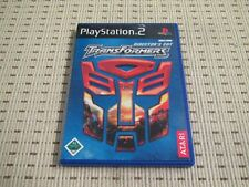 TRANSFORMERS DIRECTOR 'S CUT PER PLAYSTATION 2 ps2 PS 2 * OVP *