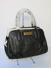 NEW Marc Jacobs Baby Groove Black Leather Satchel Shoulder Handbag M0005314