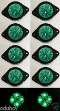 10x 12V luces LED VERDE Intermitente Lateral Camión Camión