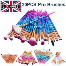 10/20 pcs/Set Professional Make Up Brushes Unicorn Blusher Face Powder Eyeshadow