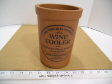 The Original Suffolk Terra Cotta Clay Wine Cooler Henry Watson Pottery England