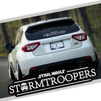 Star Wars Stormtroopers Car Auto Vinyl Decal Sticker Reflective Windshield New