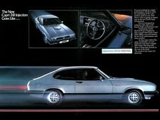 FORD CAPRI 2.8i INJECTION SPECIAL RETRO POSTER PRINT CLASSIC 80/'s ADVERT A3