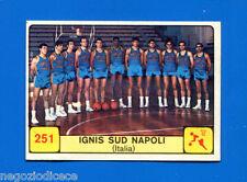Figurina/Sticker CAMPIONI DELLO SPORT 1968/69 n. 251 - IGNIS NAPOLI -rec