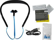 Jabra Halo Smart Bluetooth Wireless Headset Water Resistant Siri Google - Blue