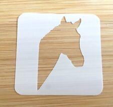 Face paint stencil reusable washable horses head Mylar 190