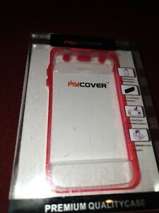 For iphone 4 premium clear/pink  iphone case shockproof