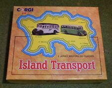 Die cast CORGI CLASSICS 97741 islsnd transport 2 Jersey Bedford OB entraîneurs