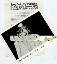 Stomu Yamashta Iroha Life Of Change Press Release 1980