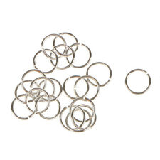 20x Jewelry Making Jump Rings Handicrafts 6mm Split Rings Connecting Rings