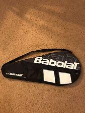 Babolet Tennis Racquet Bag / Cover - 1 Racquet - Black / White
