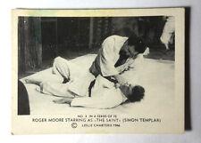 "1966 Roger Moore as ""The Saint"" Somportex Trading Card #3 from Denmark/UK"