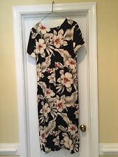 c02bd4010b Paradise Bay, Made in Hawaii, Floral Dress, Size S, Full Length