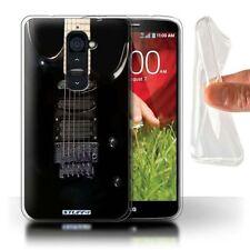 Étuis, housses et coques noire LG G2 en silicone, caoutchouc, gel pour téléphone mobile et assistant personnel (PDA)