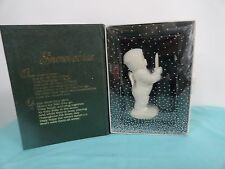 Dept 56 Snow babies  Just One Little candle  IOB