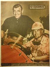 FOTOGRAMAS #103 1950 Clark Gable Al Johnson Errol Flynn James Stewart John Derek