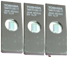 EPROMS TOSHIBA TMM57512AD-17 Erased And Blank Checked 17 Pieces (E024)