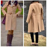 Zara Women Camel Wool Coat