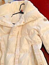 Moncler women's white coat size 2
