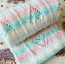 1e2d5456fb983 Lots of Love Baby Blanket Knitting Pattern Easy Knitting Pattern Straight  Needle