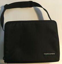 Case Logic 30 CD Tote Black Compact Disc Carry Case Shoulder Strap Storage