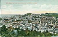 Ansichtskarte Stuttgart von Karlshöhe aus mit Kanonenweg 1907  (Nr.948)