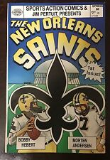 New Orleans Saints Comic Book - 1st and only issue -  1988 - Hebert / Andersen